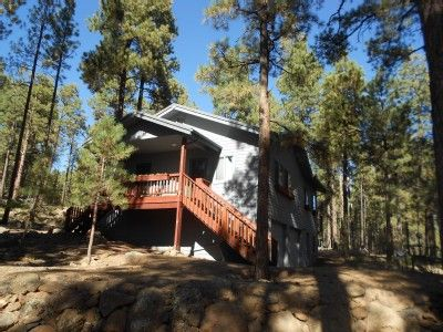 Photo for Cabin In The Pines On 3+ Acres Close To Skiing And Hiking