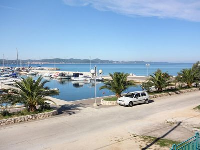 Photo for One bedroom apartment with balcony and sea view Bibinje (Zadar)