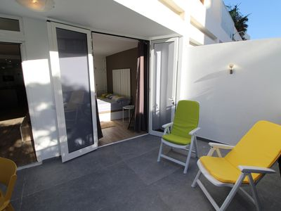Photo for LUXURIOUS, SPACIOUS ALL NINE, 2 bedrooms, 2 SWIMMING POOLS, solarium, private parking