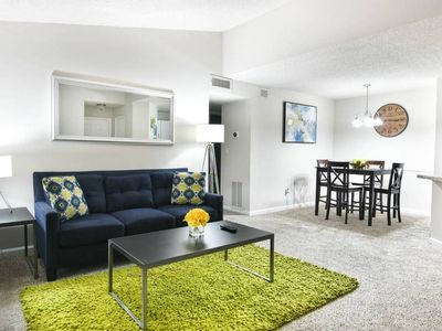 Photo for ATL Midtown | Fast WiFi | Cable TV | King Bed