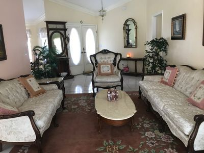 Photo for Beautiful Property in Quiet Neighborhood, Lake view and heated pool.