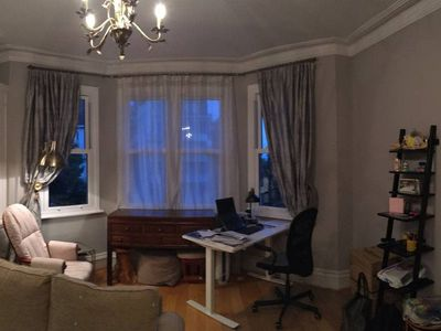 Photo for 2bed, 2bath flat near Hampstead, 5min walk to tube