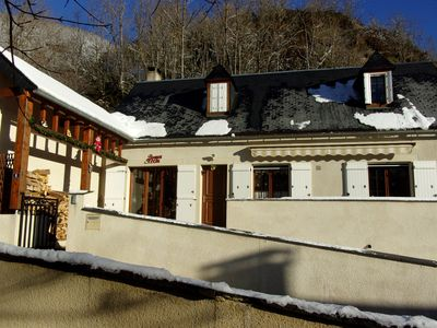 Photo for Pyrenean house in the valley of Aure, 4 *, 8pers, near St-Lary-Soulan.