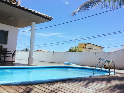 Photo for 4 bedroom house, and suites praia de ipitanga, flamengo