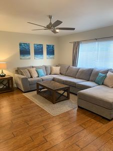 Photo for 2 bed/2bath spacious apartment by the beach! Family/pet friendly
