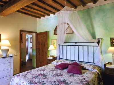 Photo for CHARMING APARTMENT IN THE MIDDLE OF TUSCANY WITH SWIMMING-POOL. WINE TASTINGS