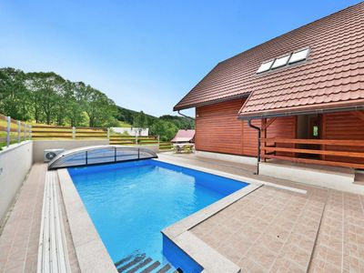 Photo for Stunning private villa with WIFI, private pool, TV, balcony, washing machine and parking