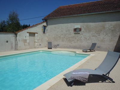 Photo for between Touraine and Berry large well equipped cottage and spa