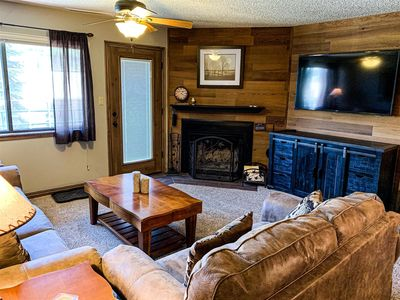 Photo for 2 bedroom / 2bathrooms - Great common area with large hot tub, sauna and game room - Close to all ac