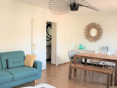 Photo for Surf and beach, cozy 3-room apartment in Biarritz center, 100 meters from the Côte des Basques