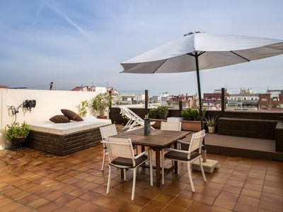 Photo for Spectacular penthouse in the city center - Central Suites Barcelona