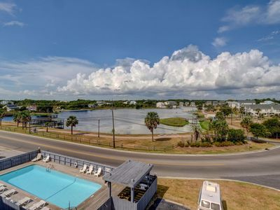 Photo for Carolina Lake Beach Villas A17 - One bedroom condo, ocean views and a pool!
