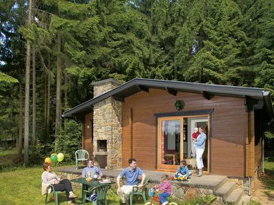 Photo for NIce chalet on a park in a forest rich environment