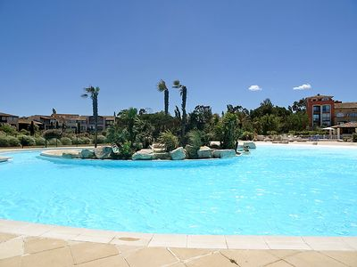 Photo for One bedroom Apartment, sleeps 4 in Minuty with Pool and WiFi