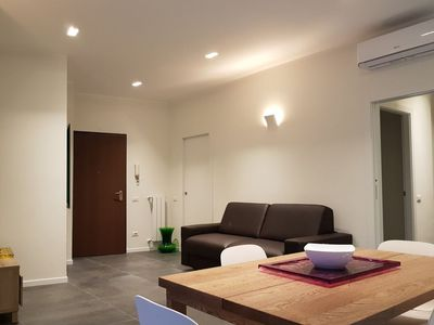 Photo for Navigli with Darsena view, Smart and Wide apartment with free Wi-Fi and AC
