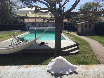 Photo for Villa with pool 2km from the beach