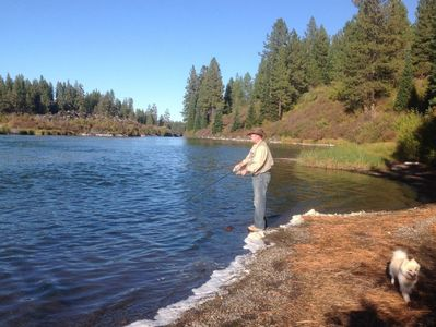 River View with Access,10 min from downtown Bend/ Fishing, Hiking, Biking -  Deschutes River Woods