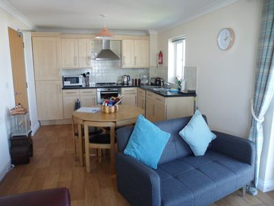Photo for Luxury apartment with breathtaking seaviews of the world famous Fistral Beach