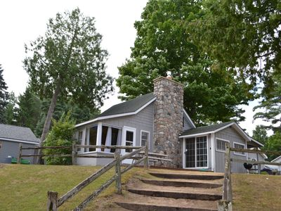 Photo for Beautiful Lakefront Cottage on Intermediate Lake