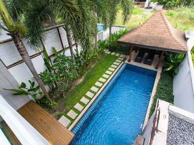 Photo for 3 BDR Private Pool Villa in Gated Community 2 Min Walk to Restaurant in Rawai