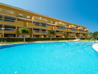 Photo for FAISÀ - Apartment with shared pool in DENIA.