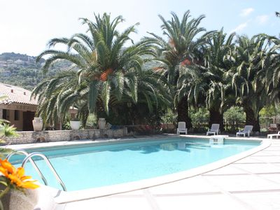 Photo for Apartment with pool in Sartene