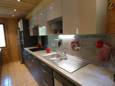 Photo for CHALET between Annecy and La Clusaz wifi jacuzzi baby comfort animals accepted