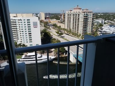 Photo for Vacation Apt with Beach & Intracoastal views - steps to  beach close to downtown