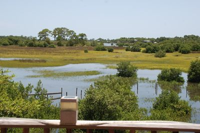 View of the Salt Marsh from our deck.