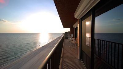 Photo for Penthouse Condo on the Beach with Amazing West and North Views