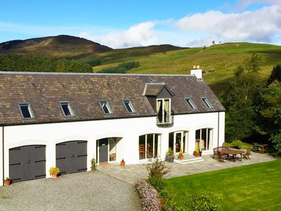 Photo for ★ Luxury Rural Scottish Hideaway ★ Log burner + Amazing Views ★