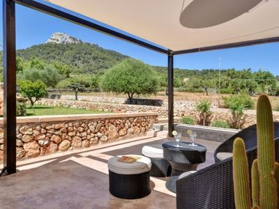Photo for 2 bedroom Villa, sleeps 4 in s'Horta with Pool, Air Con and WiFi
