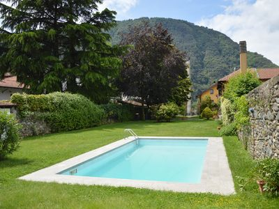 Photo for The wonderful Chalet with the swimming pool on Lago Maggiore