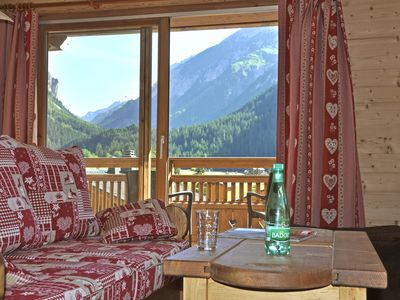 Photo for AT THE FOOT OF SLOPES:  comfortable Flat in a new built chalet in 2011