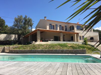 Photo for Large house, heated pool, 5 minutes from the beaches