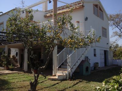 Photo for Villa 5 bedrooms private pool Lagosol 2500 m2 plot with garden and orchard