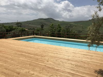 Photo for Group accommodation in the center of Sicily with private pool