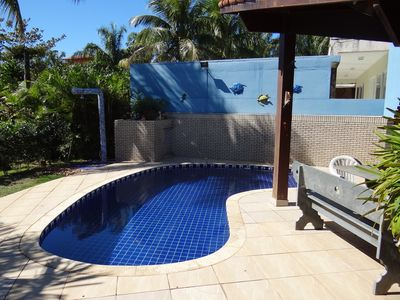Photo for Comfortable single storey house, air conditioned, 50m from the beach