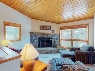 Photo for NEW LISTING! Dog-friendly condo with a private hot tub, shared pool, on 40 acres