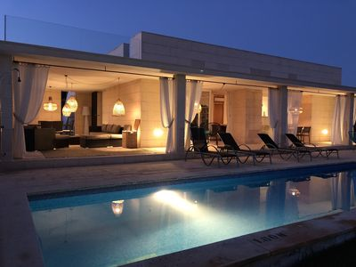 Photo for Villa Zapa is a modern villa situated very near the sea and in a fantastic area.