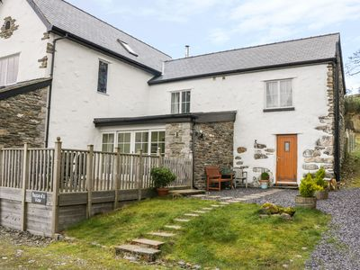 Photo for BUZZARDS VIEW, pet friendly, with hot tub in Eglwysbach, Ref 13008