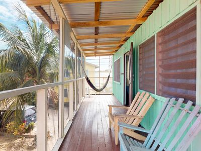 Photo for Group of 4 renovated cabanas near the beach w/ screened porches & hammocks