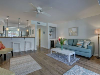 Photo for Walk to Siesta Key, No Car Needed, Newly Renovated, Views of Pool, WiFi