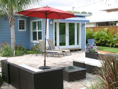 Photo for Beach Retreat In Lake Worth, 2 Bedr. Designer Kitchen, Relaxing Backyard PETS OK