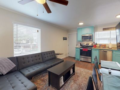 Photo for NEW LISTING! Cozy city apartment w/ a shared deck - close to downtown!