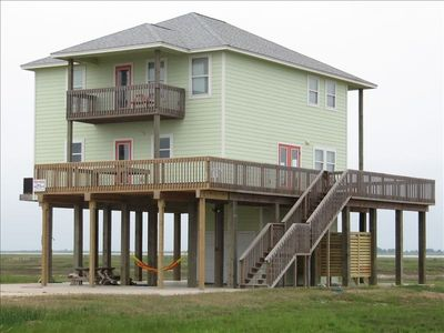 Fish House, with outdoor shower & gated deck