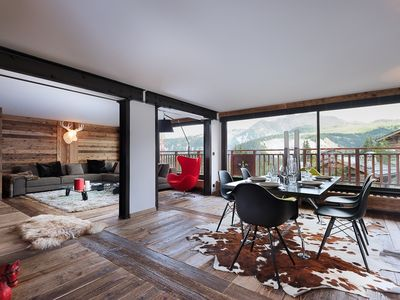 Photo for Ski in/out apartment in Courchevel 1850