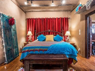 Photo for DOWNTOWN HISTORIC CASITA THAT IS SO SANTA FE : MEMORABLE & WALK TO EVERYTHING!