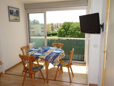 Photo for Apartment 240 m from the center of Le Grau-du-Roi with Lift, Internet, Pool (984273)