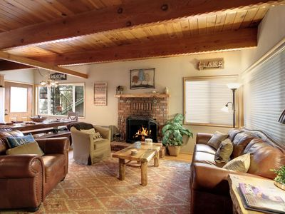 Photo for Adventure Begins By this Lake Side Mountain Home